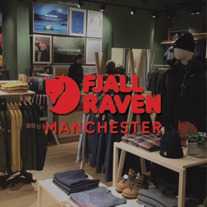 New Fjallraven store now open in Manchester!