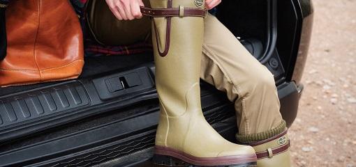 Green Le Charmot Boots