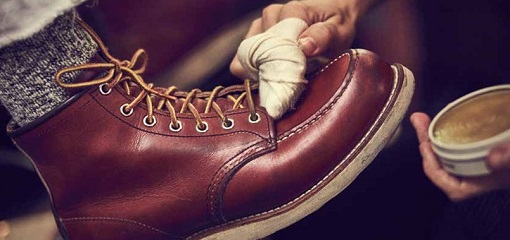 Wax Polish Red Wing Shoes