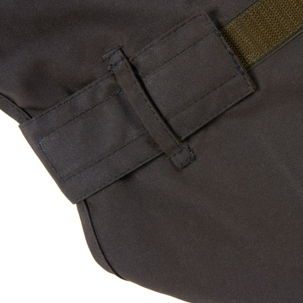 Barbour 2 in 1 Wax Cotton Dog Coat Olive