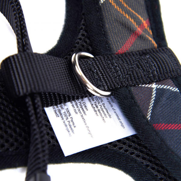 Barbour Travel / Exercise Dog Harness Classic Tartan