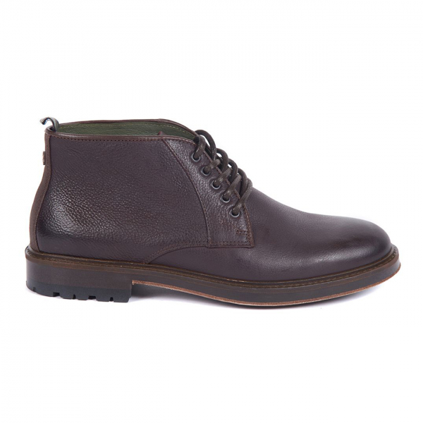 Barbour Derwent Chukka Boot Dark Brown