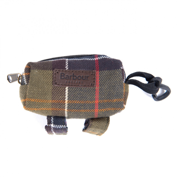 Barbour Dog Bag Dispenser Classic Tartan