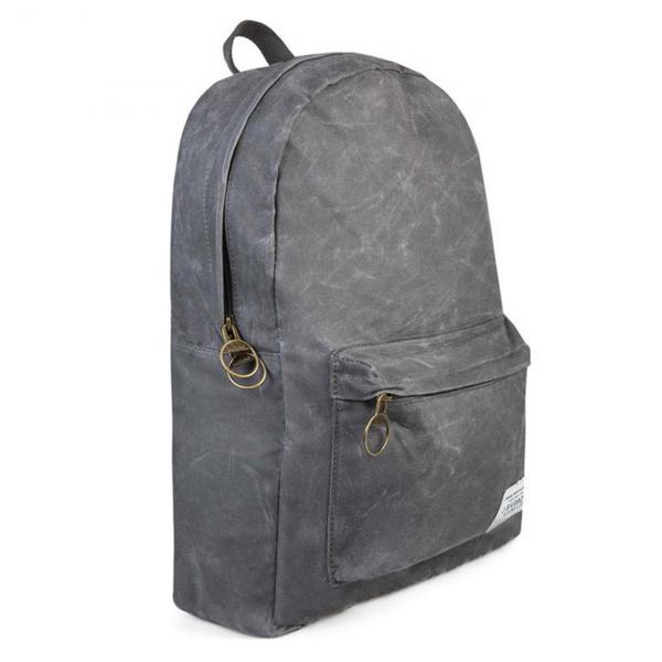 Barbour Eadan Backpack Stonewashed Marl Grey