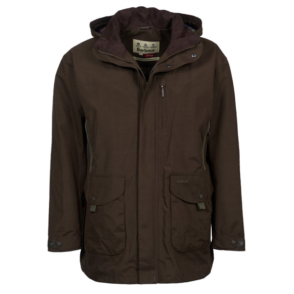 Barbour Gosforth Jacket Dark Olive