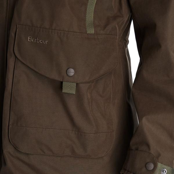 Barbour Gosforth Jacket Dark Olive