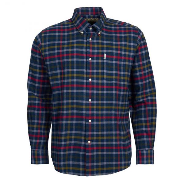 Barbour Hadlo Shirt Navy