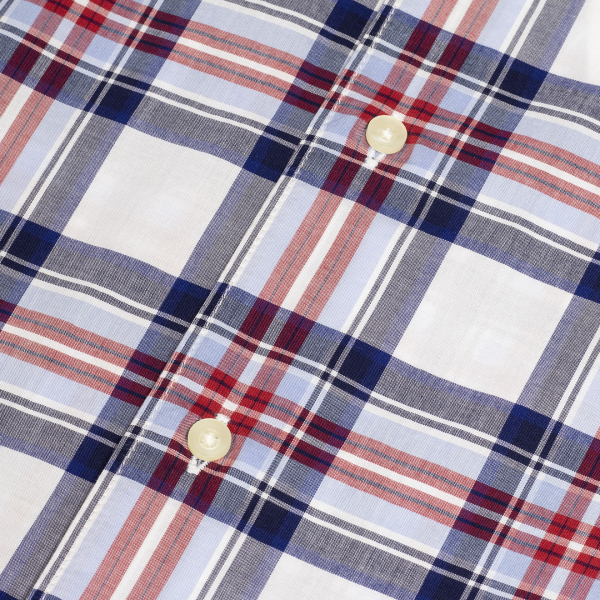 Barbour Highland 6 S/S Tailored Shirt Sky