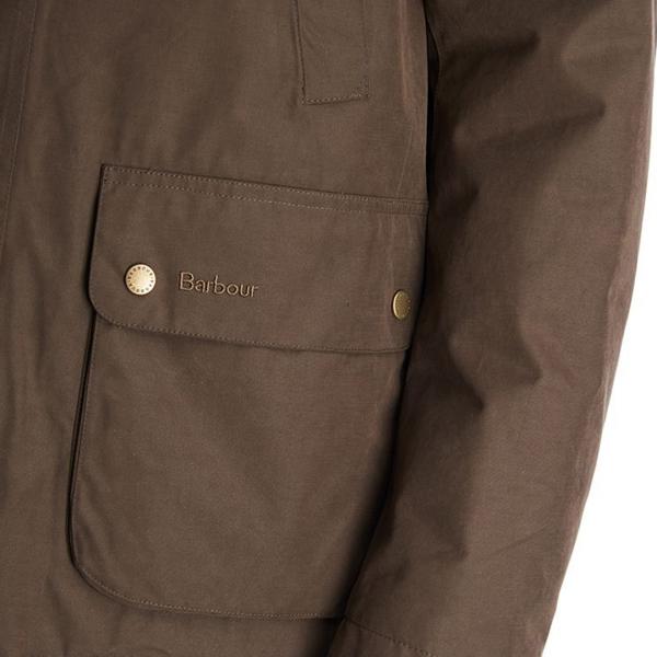 Barbour Lorton Jacket Dark Olive