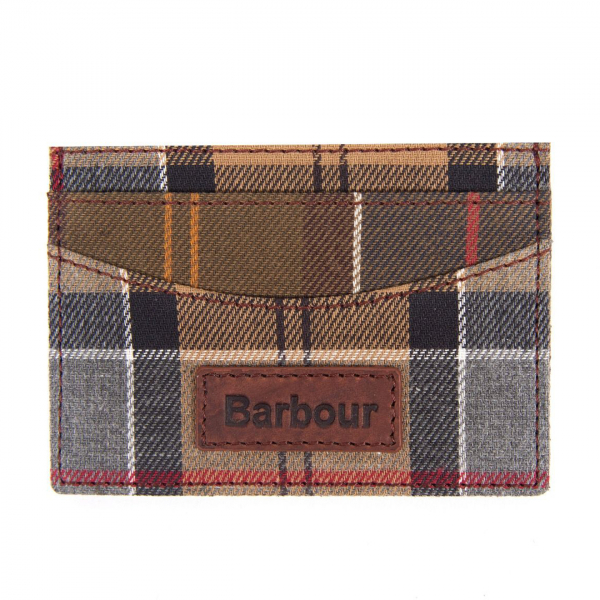 Barbour Mixed Tartan Card Wallet Mixed Tartan