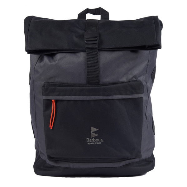 Barbour Storm Force Backpack Charcoal