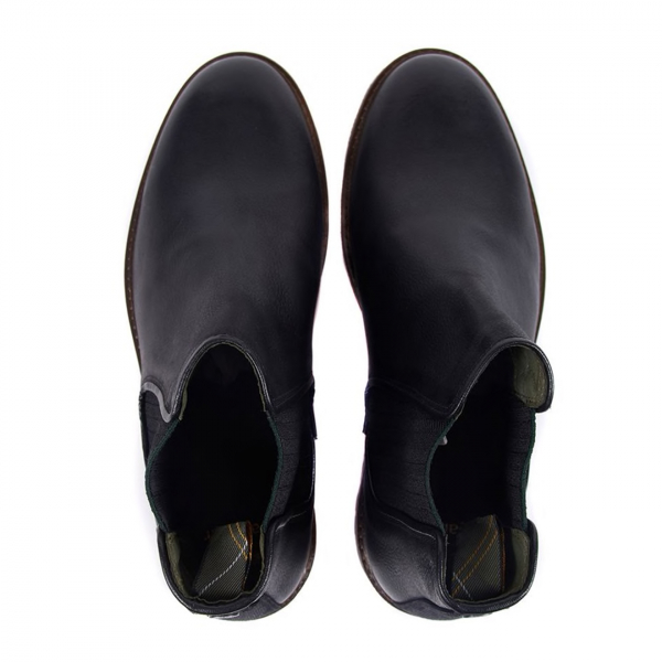 Barbour Wansbeck Chelsea Boot Black