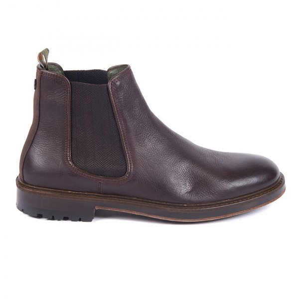 Barbour Wansbeck Chelsea Boot Dark Brown