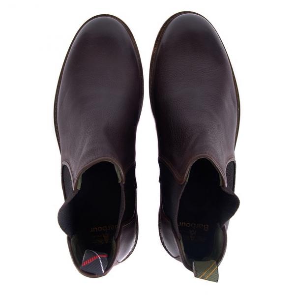 Barbour Wansbeck Chelsea Boot Dark Brown