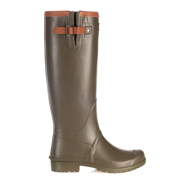 Barbour Womens Blyth Wellington Boot Olive