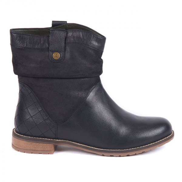 Barbour Womens Insia Boot Black