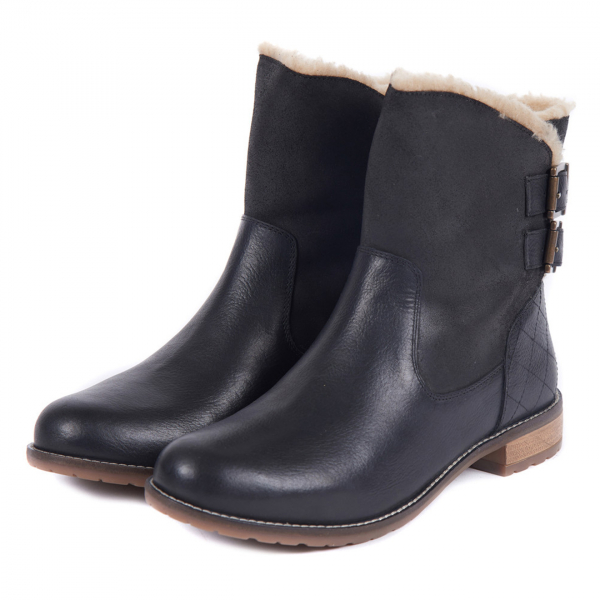 Barbour Womens Jessica Boot Black