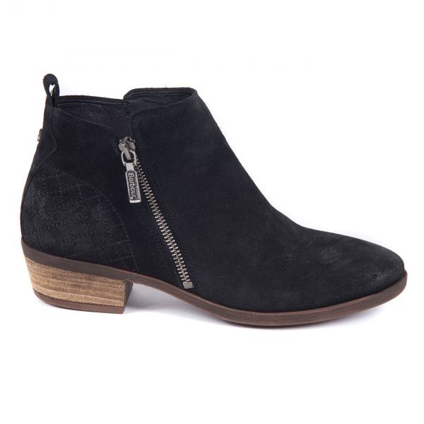 Barbour Womens Una Boot Black