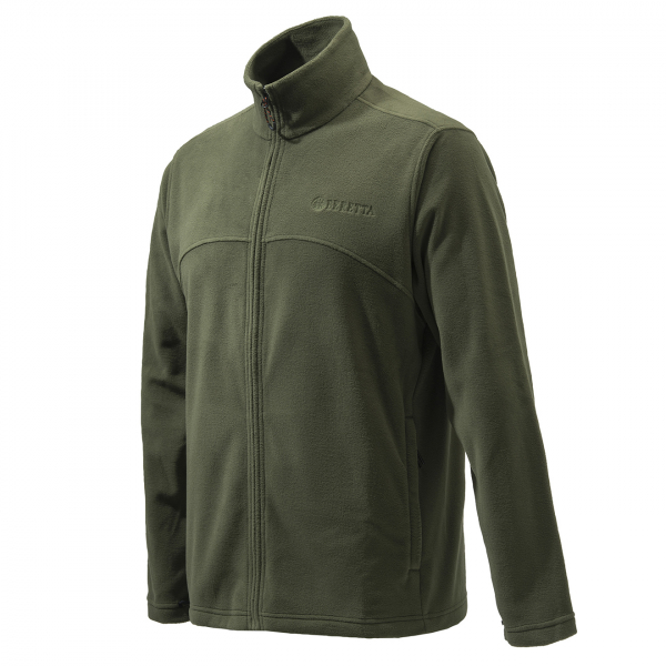 Beretta Full Zip Fleece Green