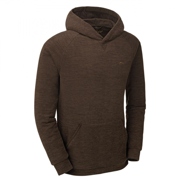 Blaser Fleece Hoodie Brown