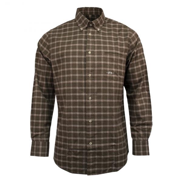 Blaser Poplin Shirt Classic Olive / Beige