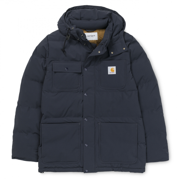 Carhartt Alpine Coat Dark Navy / Hamilton Brown