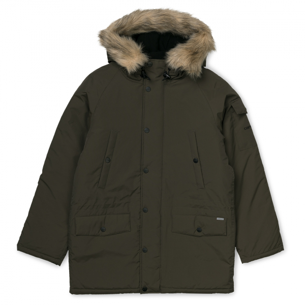 Carhartt Anchorage Parka Jacket Cypress / Black