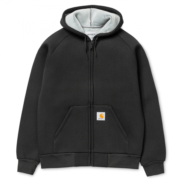 Carhartt Car-Lux Hooded Jacket Black / Grey