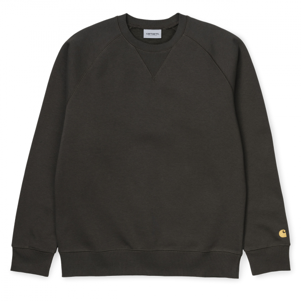 Carhartt Chase Sweat Cypress / Gold