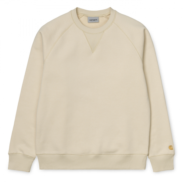 Carhartt Chase Sweat Flour / Gold