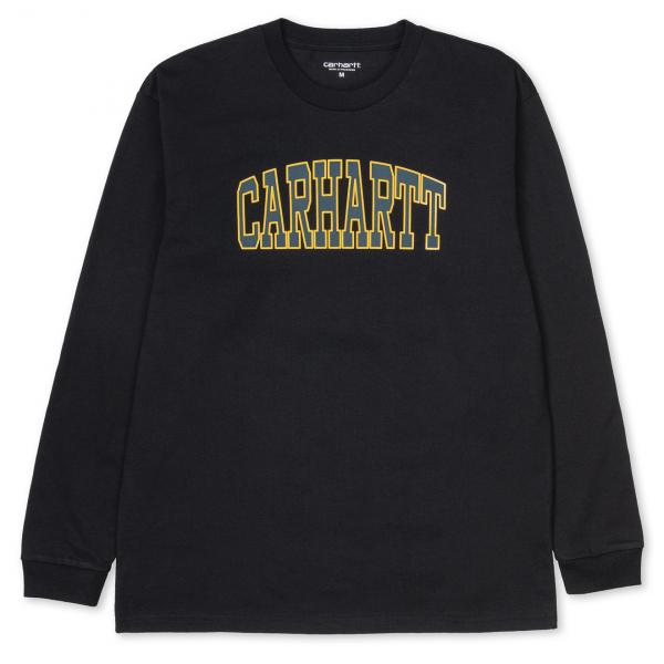 Carhartt L/S Theory T-Shirt Black