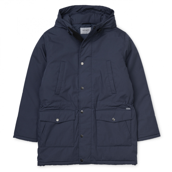 Carhartt Tropper Parka Jacket Blue