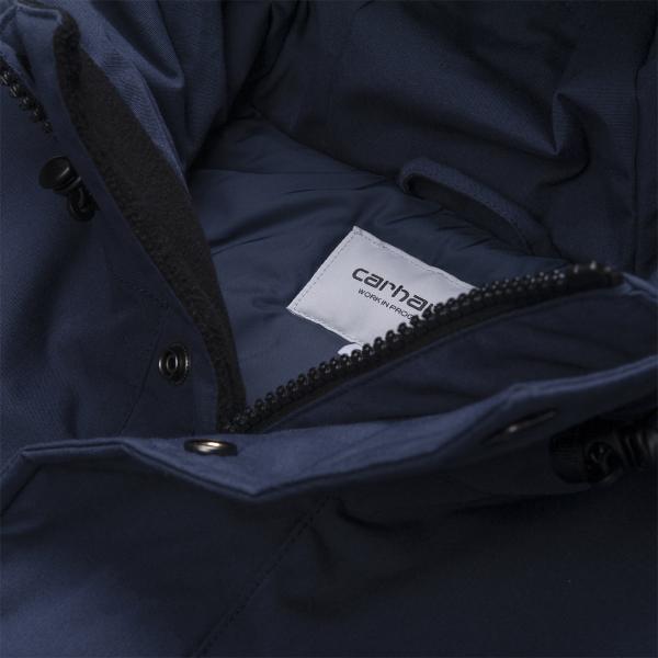 Carhartt Tropper Parka Jacket Blue