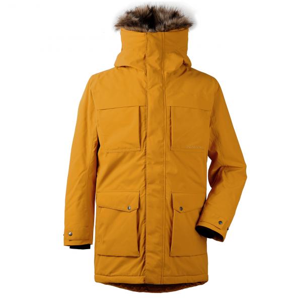 Didriksons Reidar USX Parka 2 Jacket Yellow Ochre