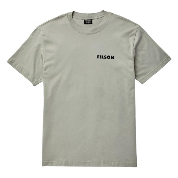 Filson Lightweight Outfitter T-Shirt Gray Sky