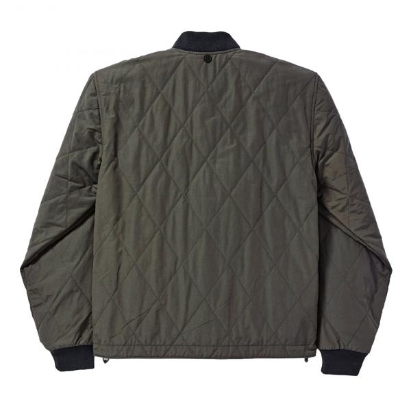 Filson Quilted Pack Jacket Dark Otter Green