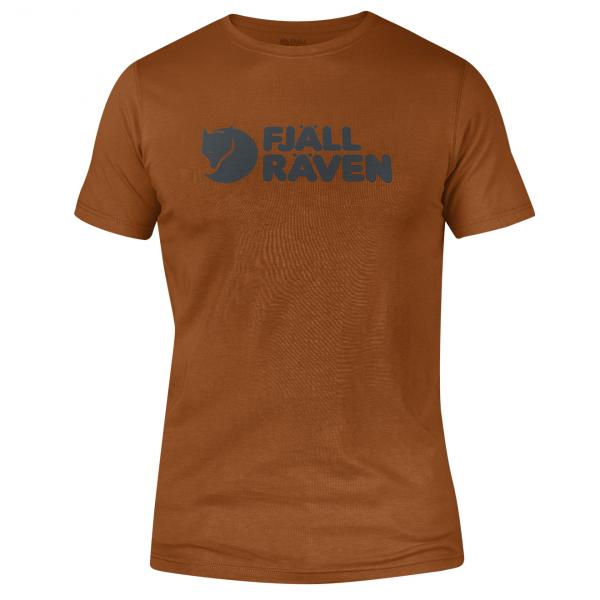 Fjallraven Logo T-Shirt Autumn Leaf