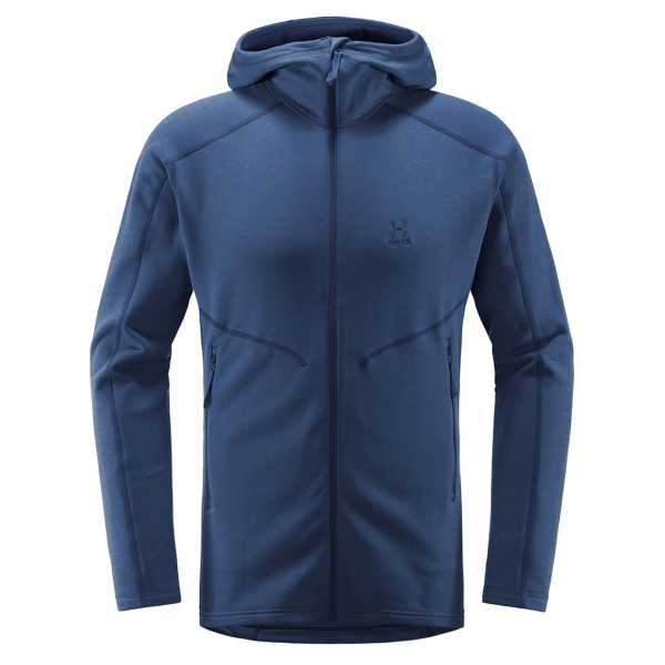 Haglofs Heron Hooded Sweat Tarn Blue
