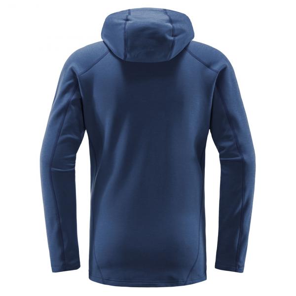 Haglofs Heron Hooded Sweat Tarn Blue
