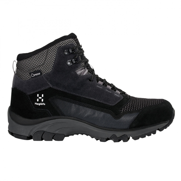 Haglofs Skuta Mid Proof Eco Walking Boot True Black/ Magnetite