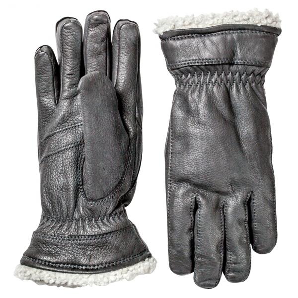 Hestra Deerskin Primaloft Glove Black