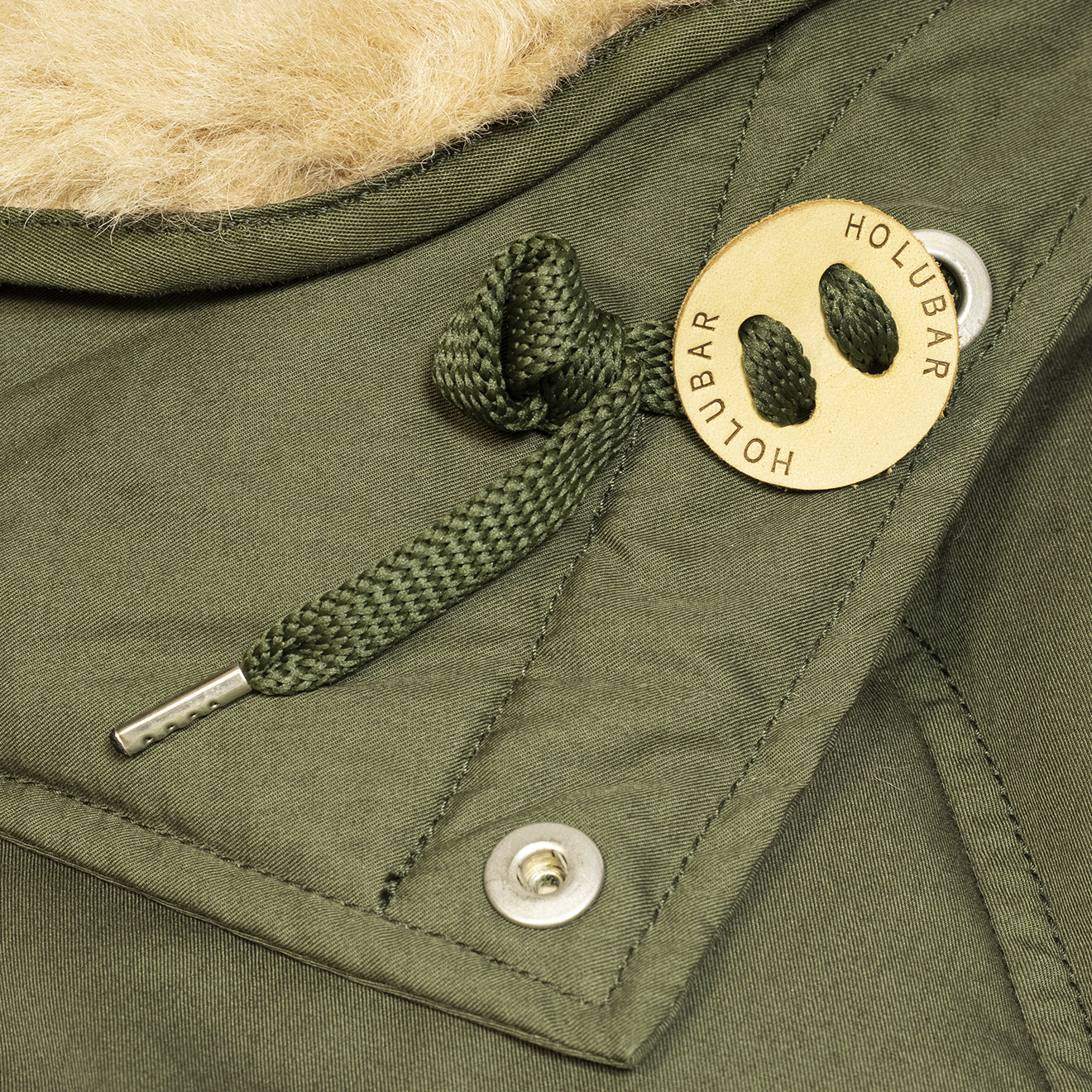 Holubar Boulder Snaps Jacket Military Olive | The Sporting Lodge