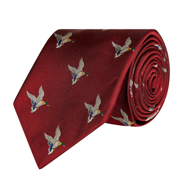 James Purdey Landing Duck Tie Brick
