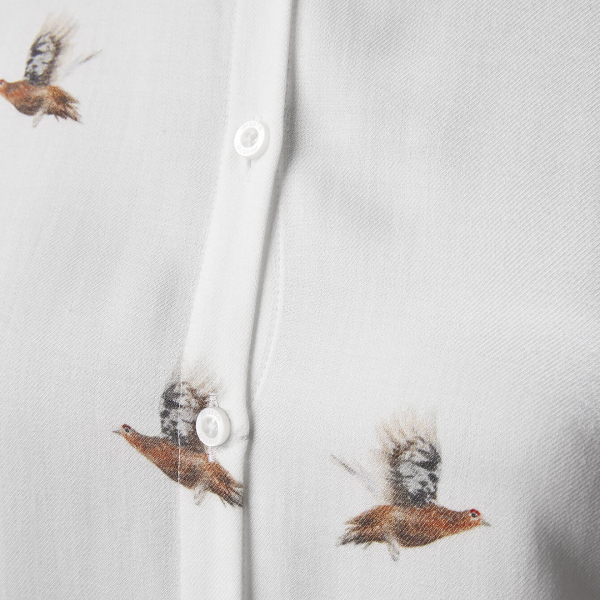Musto Womens Country Pattern Shirt Grouse