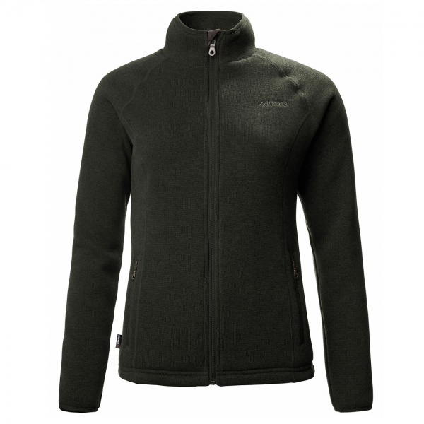 Musto Womens Super Warm Polartec Wind Jammer Fleece Jacket Forest Green