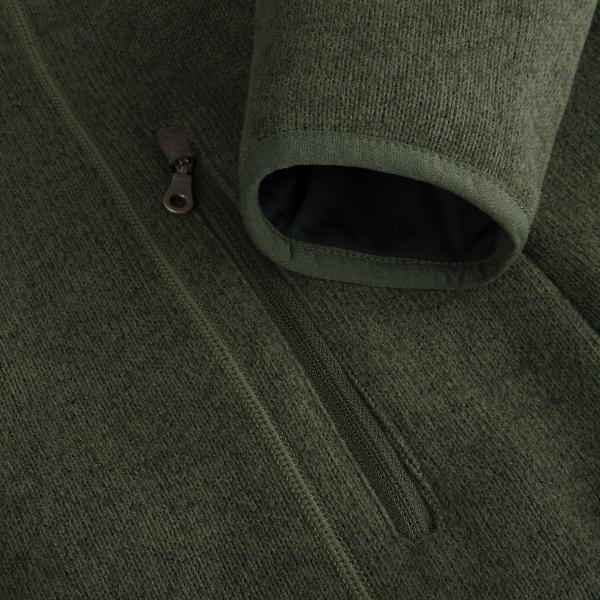 Musto Womens Super Warm Polartec Wind Jammer Fleece Jacket Forest Green