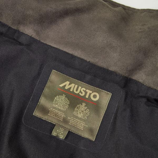 Musto Womens Whisper Highland Goretex Primaloft Jacket Dark Green