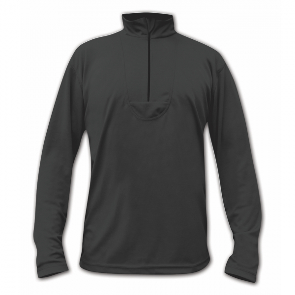 Paramo Cambia Zip Neck Top Black