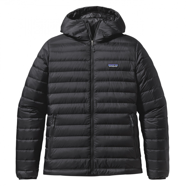 Patagonia Down Sweater Hoody Jacket Black
