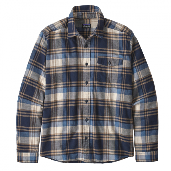 Patagonia Lightweight Fjord Flannel Shirt Buttes / New Navy
